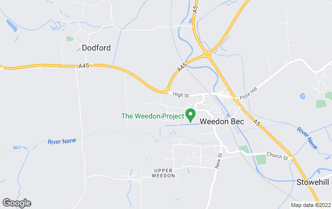 Map for MW Electrical Midlands Ltd, Weedon