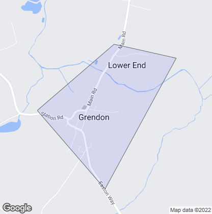 Map of property in Grendon