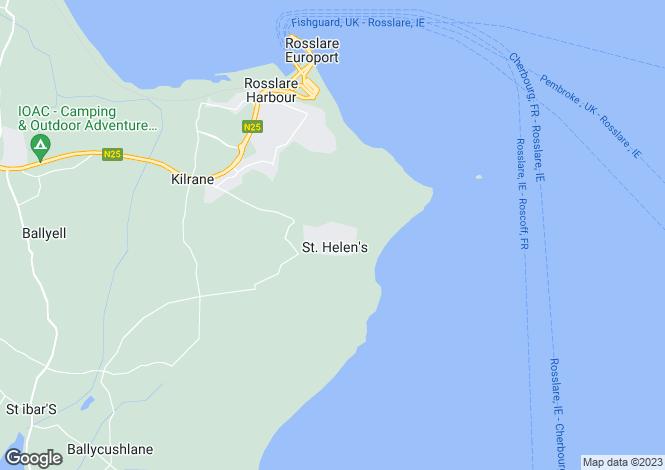 Map for Kilrane, Wexford
