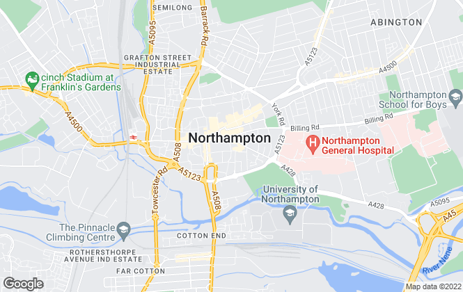Map for Horts Estate Agents, Northampton