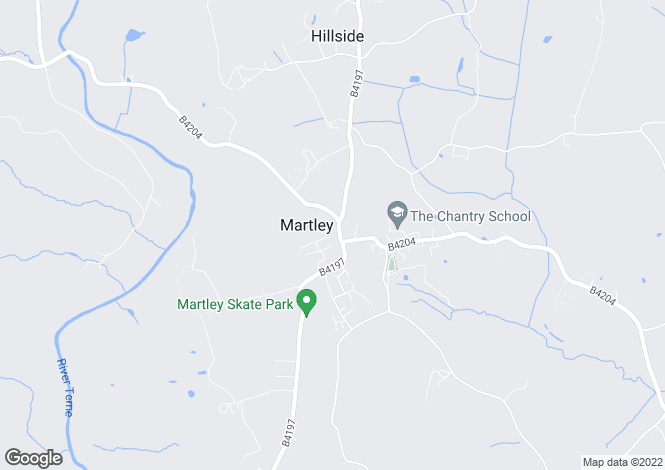 Map for The Nubbins, Martley