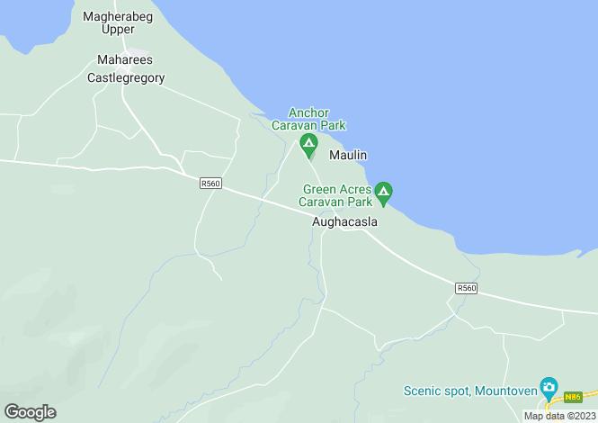 Map for Carrigadav, Carrigadav, Castlegregory, Co.Kerry, V92E2F5