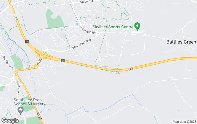 Map for Barker Storey Matthews, Bury St Edmunds