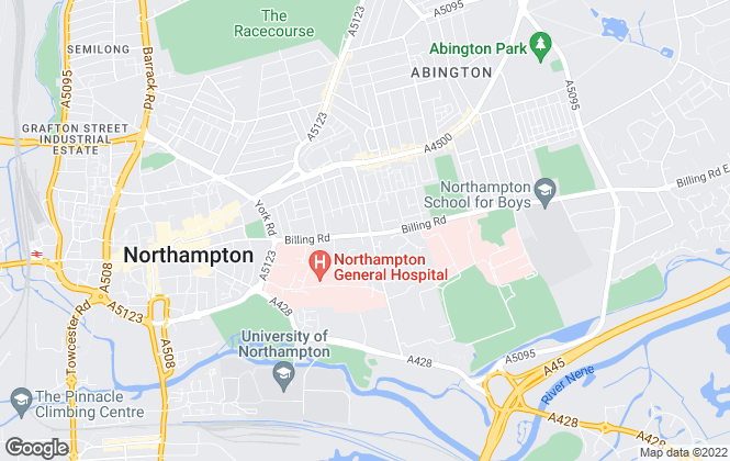 Map for Archways Real Estate, Northampton