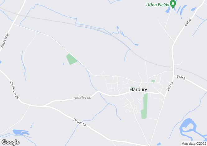Map for Hillside, Harbury, Warks, CV33 9EU