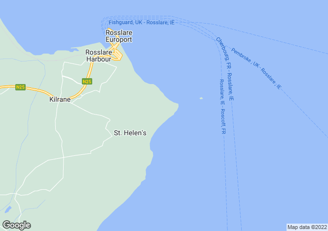 Map for Bing House, St. Helen's Bay, Rosslare, Wexford