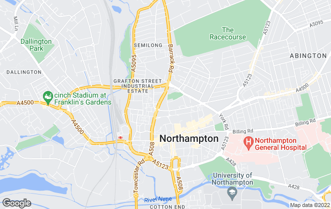 Map for Eagle estates Limited, Northampton