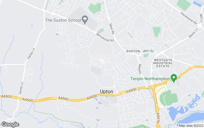 Map for Simpson & Partners, Northampton