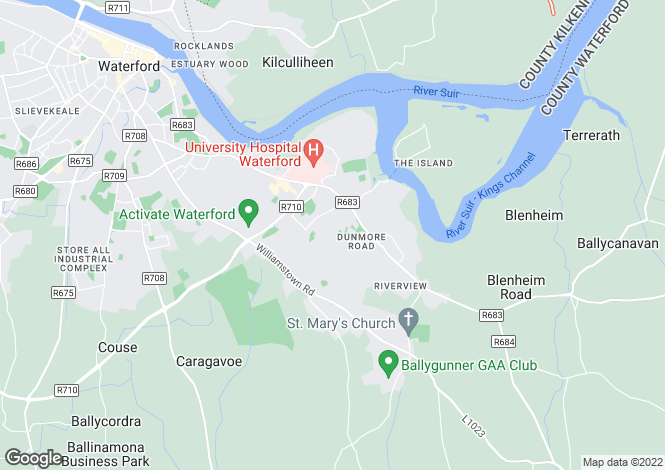 Map for 43 Kill Saint Lawrence, Waterford City, Waterford