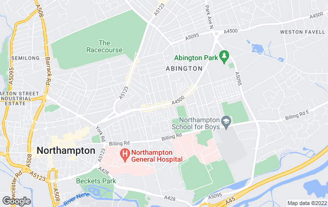 Map for Winkworth, Northampton