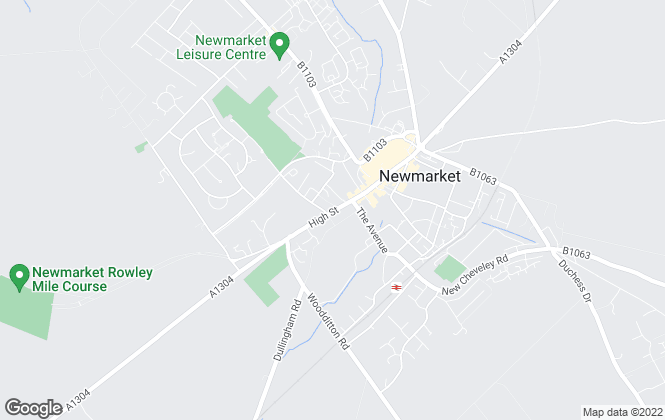 Map for Jackson-Stops & Staff, Newmarket