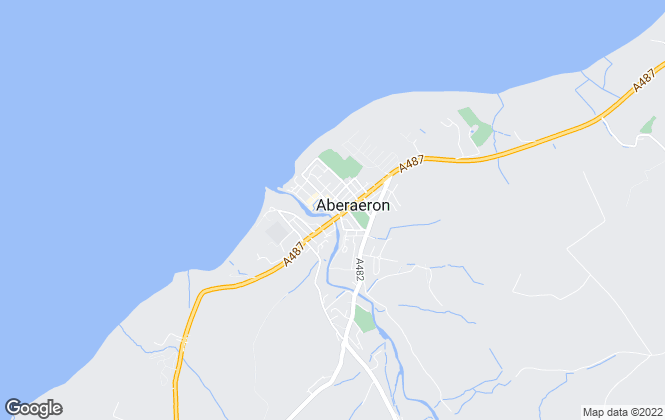 Map for Morgan & Davies, Aberaeron
