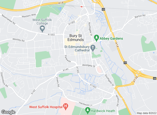 Map for Bedfords, Bury St Edmunds