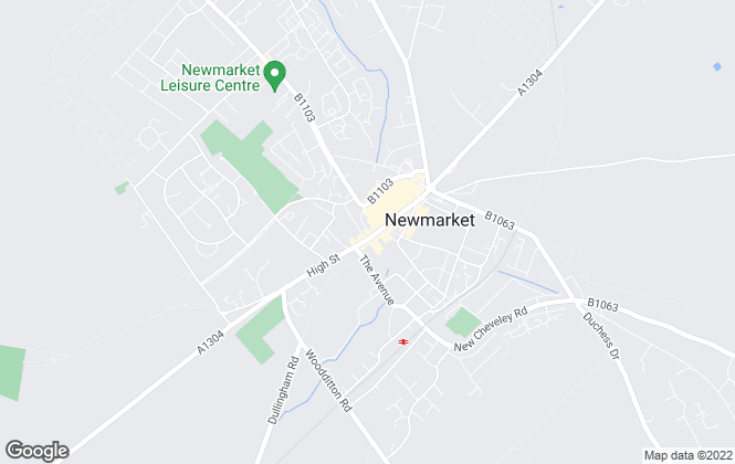 Map for Abbotts, Newmarket