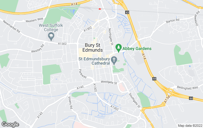 Map for Suffolk Bungalows, Bury St Edmunds