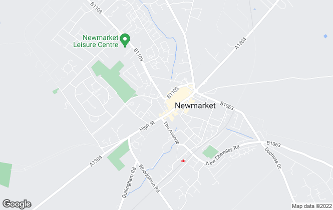 Map for William H. Brown, Newmarket