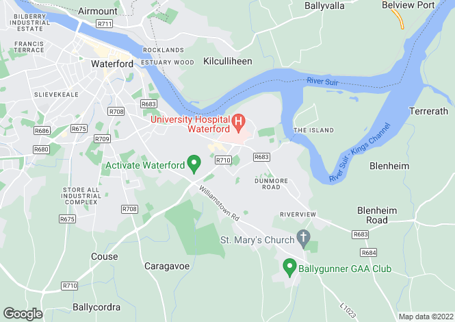 Map for 103, Viewmount, Waterford City, Waterford