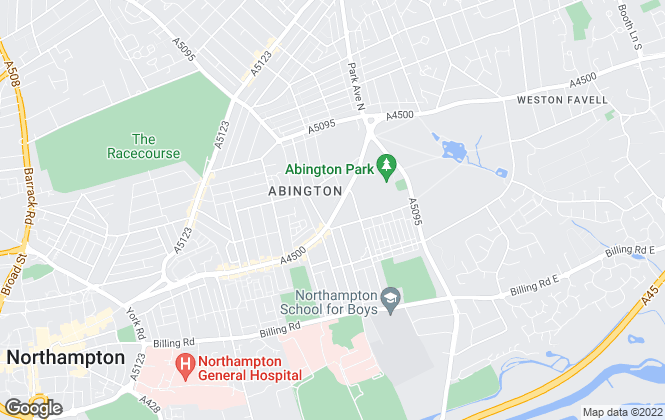 Map for Lucy Alan Estate Agents, Northampton