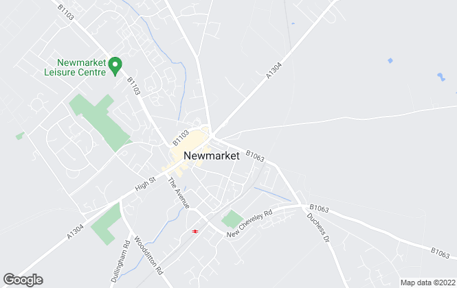 Map for Martin & Co, Newmarket