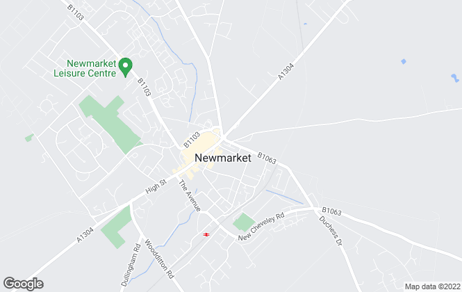 Map for Morris Armitage, Newmarket (Lettings)