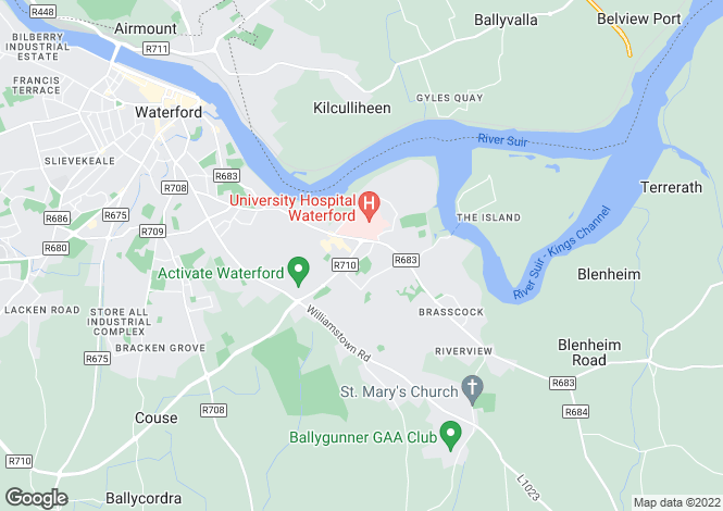 Map for 95 Viewmount Park, Waterford City, Waterford