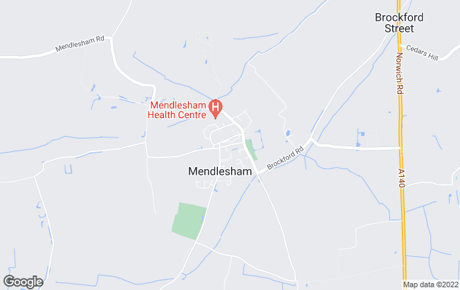Map for ML Property Consultants, Mendlesham