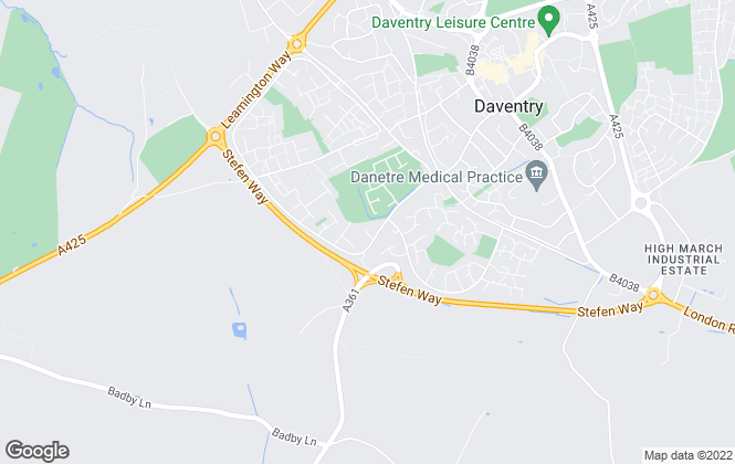 Map for M & A Fletcher Limited, Daventry