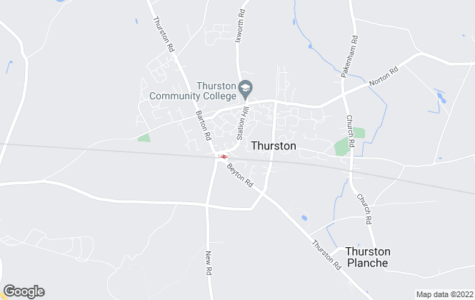 Map for All Homes, Thurston