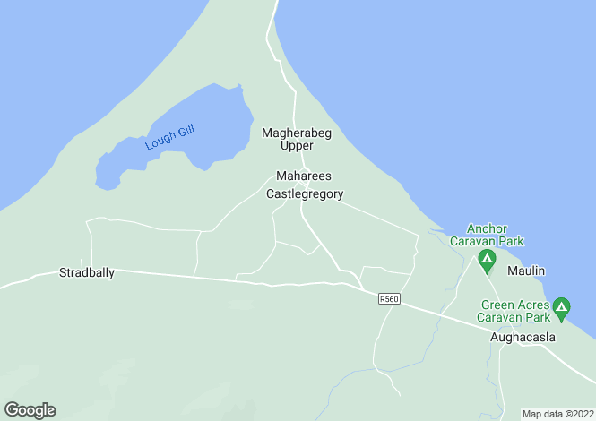 Map for Castlegregory, Kerry