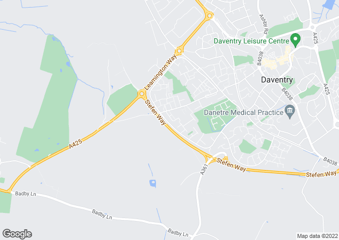 Map for Tweed Close, DAVENTRY, Northamptonshire