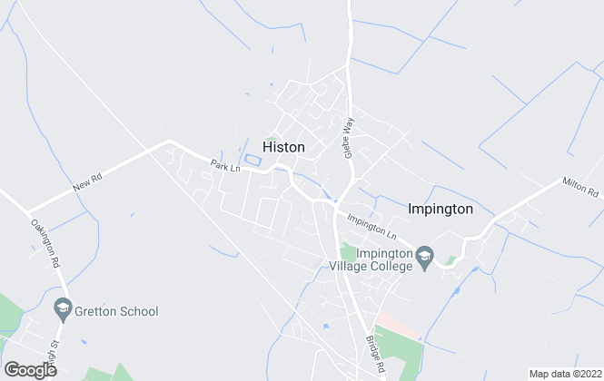 Map for Tucker Gardner, Histon
