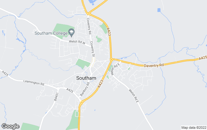 Map for Newman Estate Agents, Southam