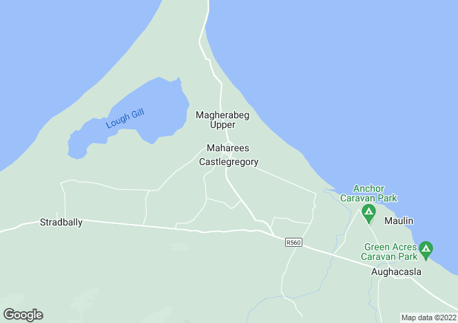 Map for Castlegregory, Castlegregory, County Kerry