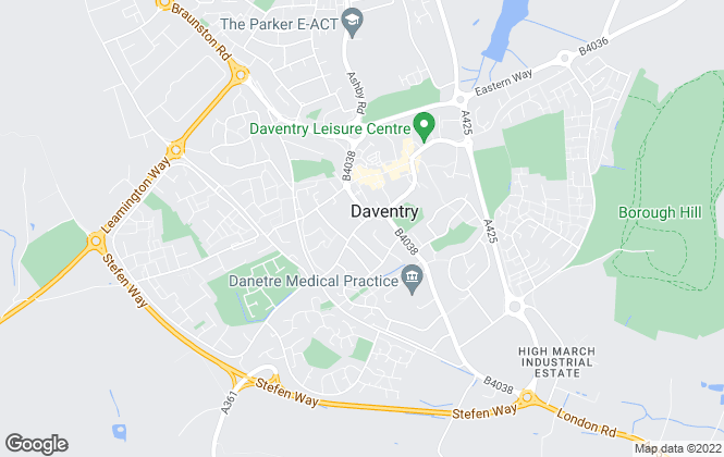 Map for Laurence Tremayne Estate Agents, Daventry