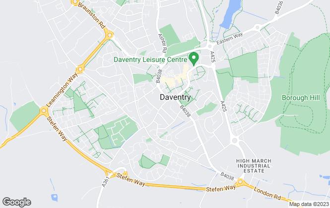 Map for Laurence Tremayne Estate Agents, Daventry