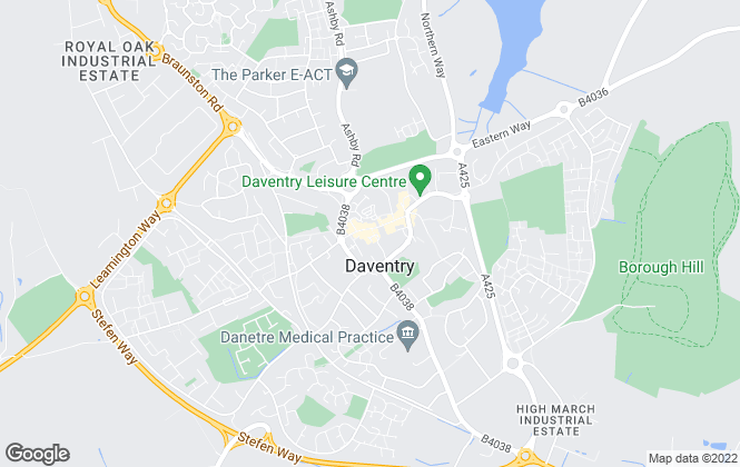 Map for Belvoir, Daventry - Lettings