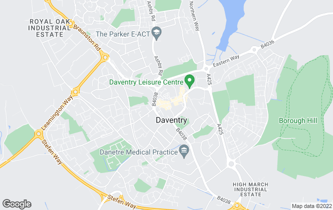 Map for Chelton Brown , Daventry
