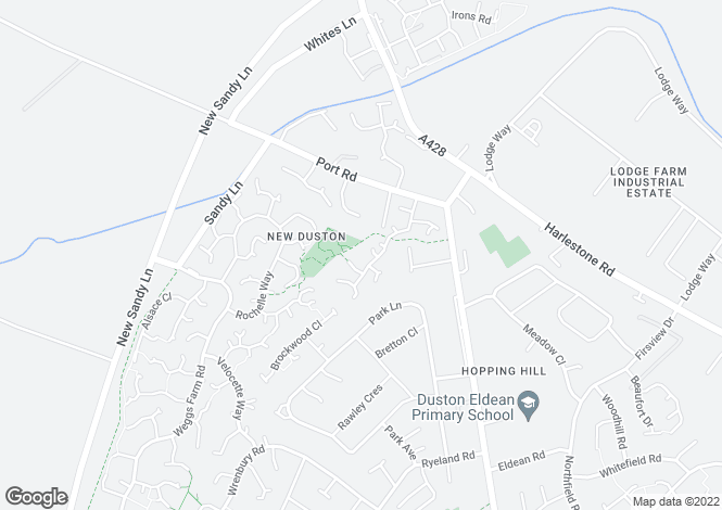 Map for Duston Wildes, Duston