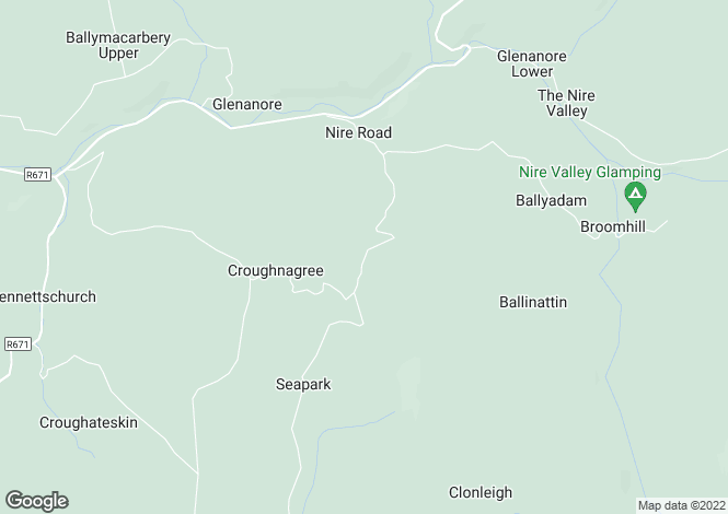 Map for Kilkeany, Nire Valley, Ballymacarbry, Clonmel, Co. Waterford, E91 WR02