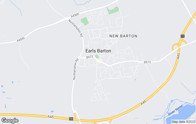 Map for Acorn, Earls Barton