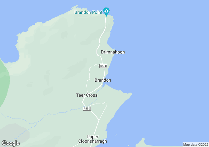 Map for Brandon, Kerry