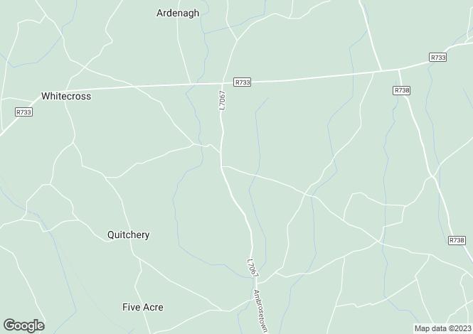 Map for Wellington Bridge, Wexford