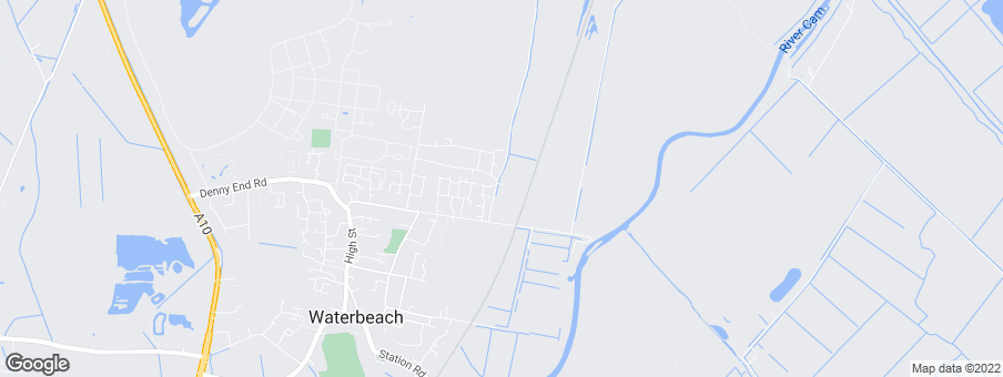 Map for Bovis Homes Eastern