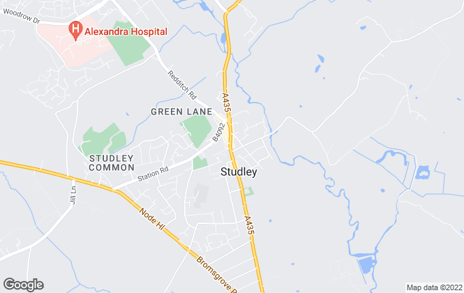 Map for Avenue Homes Estate Agents Ltd, Studley