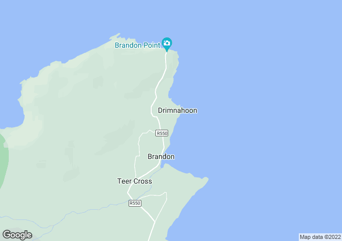 Map for Kerry, Brandon