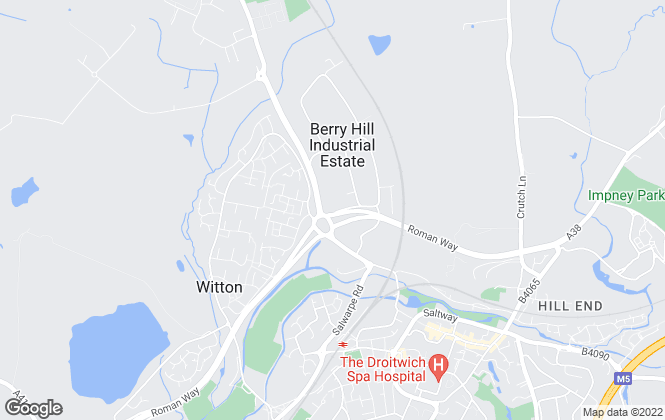 Map for GJS Dillon Ltd, Droitwich