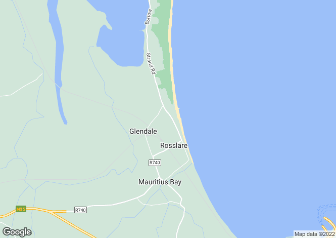 Map for 13 Southbay Point, Rosslare Strand, Wexford