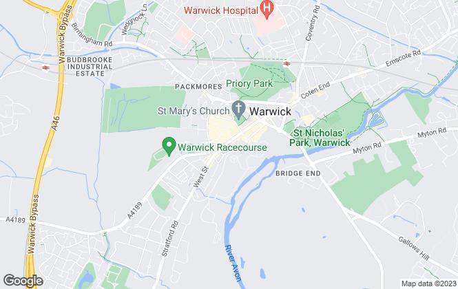 Map for Godfrey Payton, Warwick