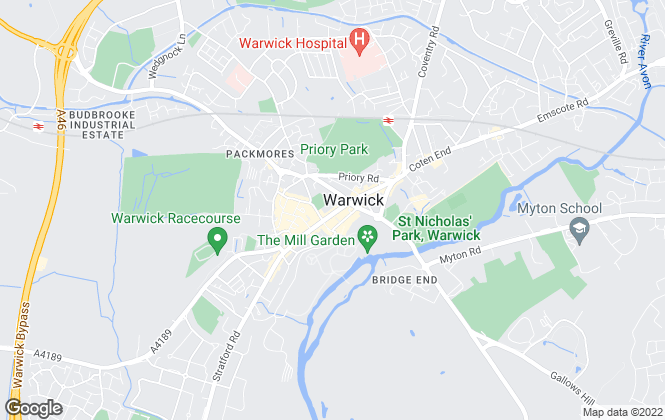 Map for ehB Residential, Warwick