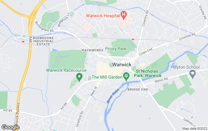 Map for N & M Consultancy, Warwick